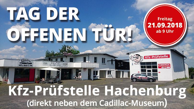 Tag der offenen Tür Kfz-Prüfstelle Hachenburg